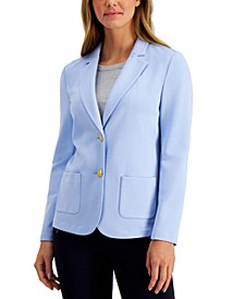 Two-Button Blazer, Created for Macy's