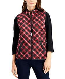 Charlie Plaid Vest, Created for Macy's