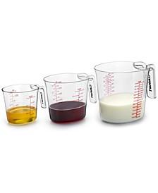 Nesting Liquid Measuring Cups, Set of 3