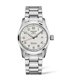 Men's Automatic Spirit Stainless Steel Chronometer Bracelet Watch 40mm