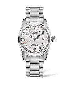 Longines Men's Automatic Spirit Stainless Steel Chronometer Bracelet Watch 40mm