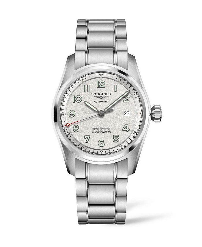 Longines - Men's Automatic Spirit Stainless Steel Chronometer Bracelet Watch 40mm