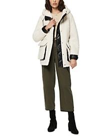 Saros Hooded Fleece Teddy Coat