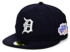 Detroit Tigers World Series Patch 59FIFTY Cap