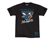 Mitchell & Ness Men's Charlotte Hornets Final Second T-Shirt