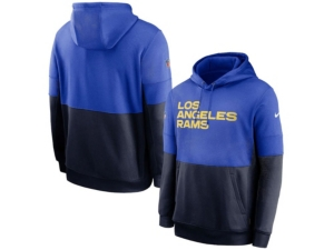 Nike Los Angeles Rams Men's Sideline Team Lockup Therma Hoodie