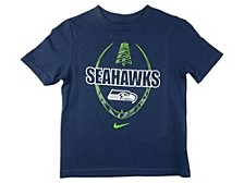 Seattle Seahawks Kids Football Icon T-Shirt