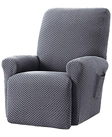 Stretch Sensations Checkered Recliner Slipcover