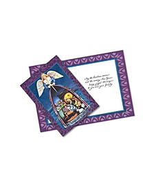 Nativity 10 Greeting Cards and Envelopes