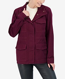 Junior's Cotton Utility Coat