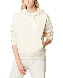 Dropped-Shoulder Hoodie