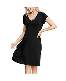 Women's Swing Dress with Pockets