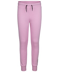 Big Girls Foil Logo Fleece Joggers