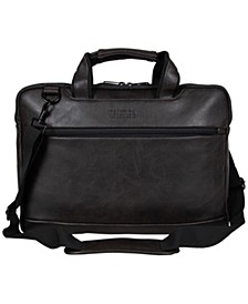 "Vegan Leather 15.6"" Laptop Business Case"