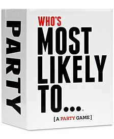 DDS Games 'Who's Most Likely To' Adult Party Game