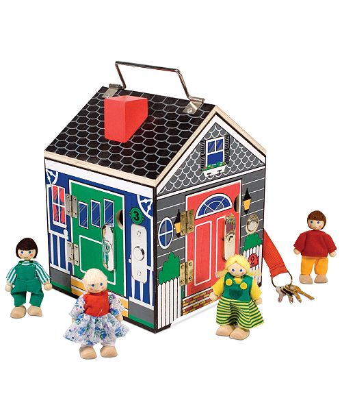 Melissa and Doug Kids Toy, Doorbell House