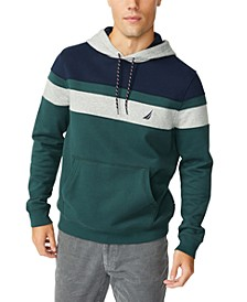 Men's Colorblocked Fleece Hoodie