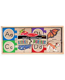 Melissa and Doug Kids Toy, Letter Puzzles