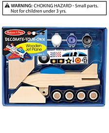 Kids Toy, Decorate-Your-Own Wooden Jet Plane