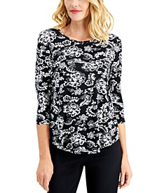 Tiana Printed Top, Created for Macy's