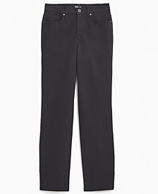 Plus Size Tummy Control Straight-Leg Jeans, Created for Macy's