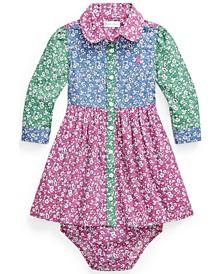 Ralph Lauren Baby Girls Fun Shirtdress and Bloomer