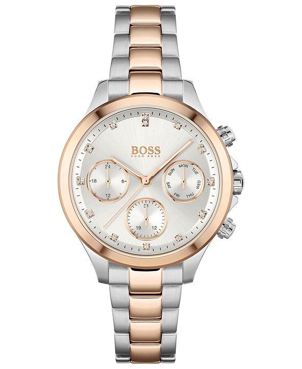 BOSS Women's Hera Two-Tone Stainless Steel Bracelet Watch 38mm