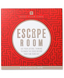 Host Your Own Escape Room Party Game