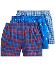Men's 4-Pk. Classic Cotton Boxers