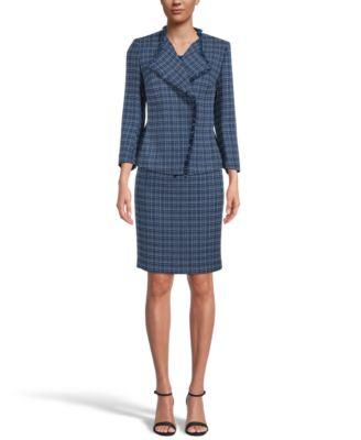 Tweed Fringe Jacket, Regular & Petite Sizes