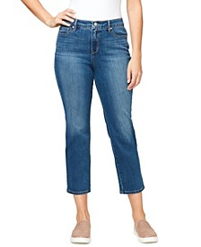 Women's Modern Straight Crop Jeans