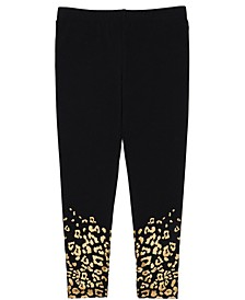 Toddler Girls Leopard Print Base Mix and Match Knit Legging