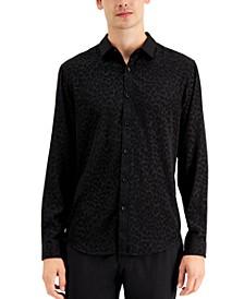 INC Men's Rio Leopard Print Shirt, Created for Macy's