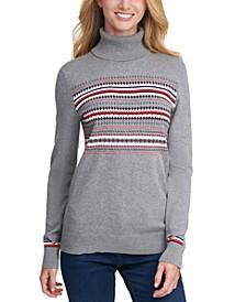 Stella Fair Isle Cotton Sweater