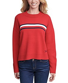 Tommy Hifiger Striped Crewneck Sweater