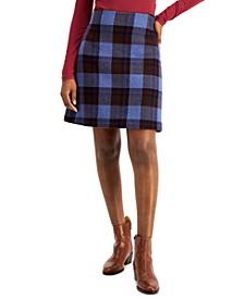 Tabarin Plaid Skirt