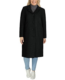 Plus Size Maxi Coat