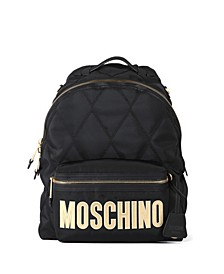 Women's Quilted Nylon Logo Backpack (46% Off) -- Comparable Value $740