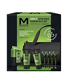 Men's Gym Bag 5 Piece Essentials Set -- Comparable Value $40