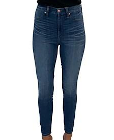 Juniors' Curvy High Rise Skinny Jeans