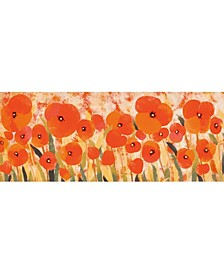 """Liora Manne Illusions Poppies Red 1'11"""" x 4'11"""" Runner Rug"""