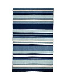 """Sorrento Tribeca Blue 5' x 7'6"""" Area Rug"""
