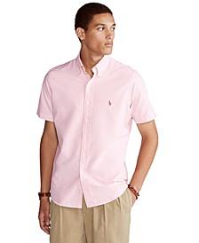 Men's Big & Tall Classic-Fit Plaid Oxford Shirt