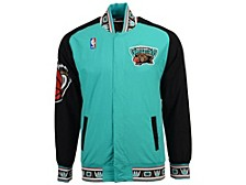 Vancouver Grizzlies Men's Authentic Warm Up Jackets