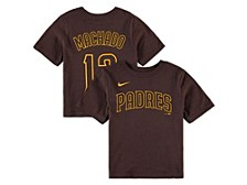 San Diego Padres Youth Name and Number Player T-Shirt Manny Machado