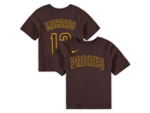 Nike San Diego Padres Youth Name and Number Player T-Shirt Manny Machado