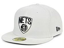 Brooklyn Nets Whiteout Pop 59FIFTY Cap