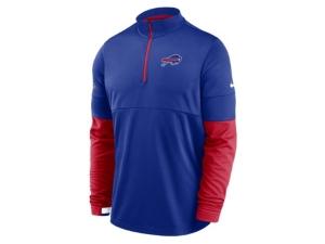 Nike Buffalo Bills Men's Sideline Half Zip Therma Top