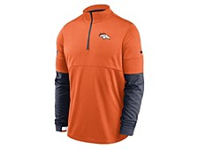 Denver Broncos Men's Sideline Half Zip Therma Top