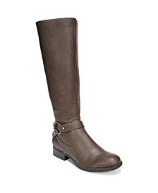 X-Felicity Wide Calf High Shaft Boots